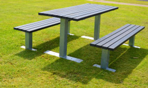 Outdoor Bench & Table from