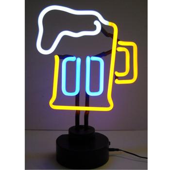 Neon Sculpture - Beer Mug