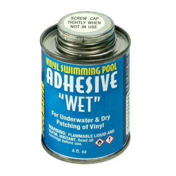Patch Adhesive 4oz. can - In Box