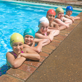 Pool Swim Caps - Actual Photo - All Colors