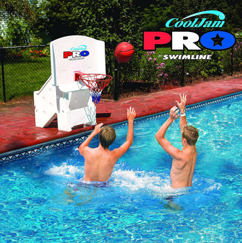 Cool Jam Pro Poolside Basketball - Actual Photo