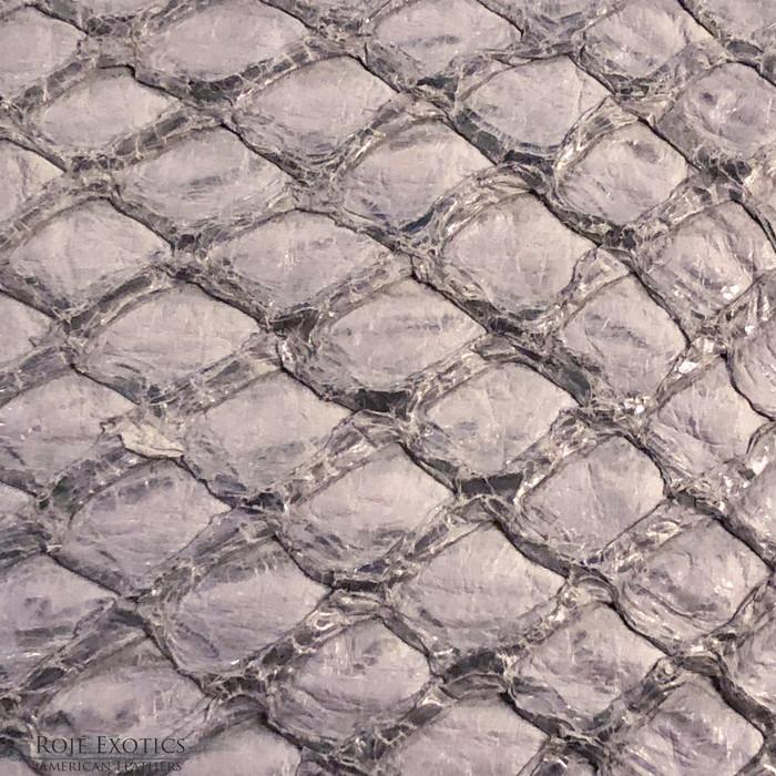 Pirarucu (Arapaima) Soft Grey Glazed-  XL