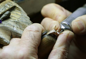 Engagement ring servicing