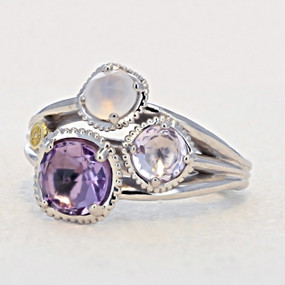Tacori Lilac Blossoms Fashion Ring (SR136130126)