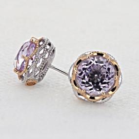 Tacori Lilac Blossoms Fashion Earrings (SE105P13)