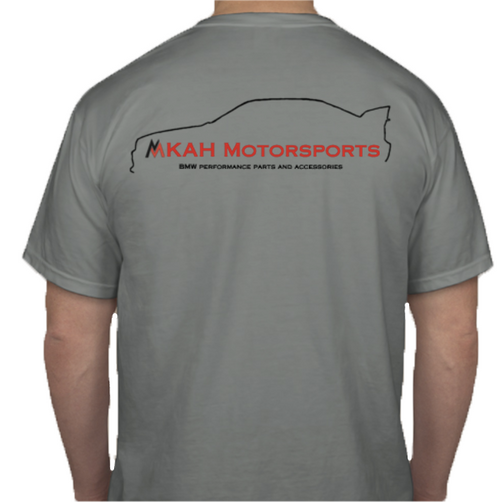 2017 MKAH Motorsports T-Shirt + 2 Decals