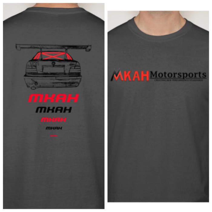 MKAH Motorsports Official T-shirt (dark grey)