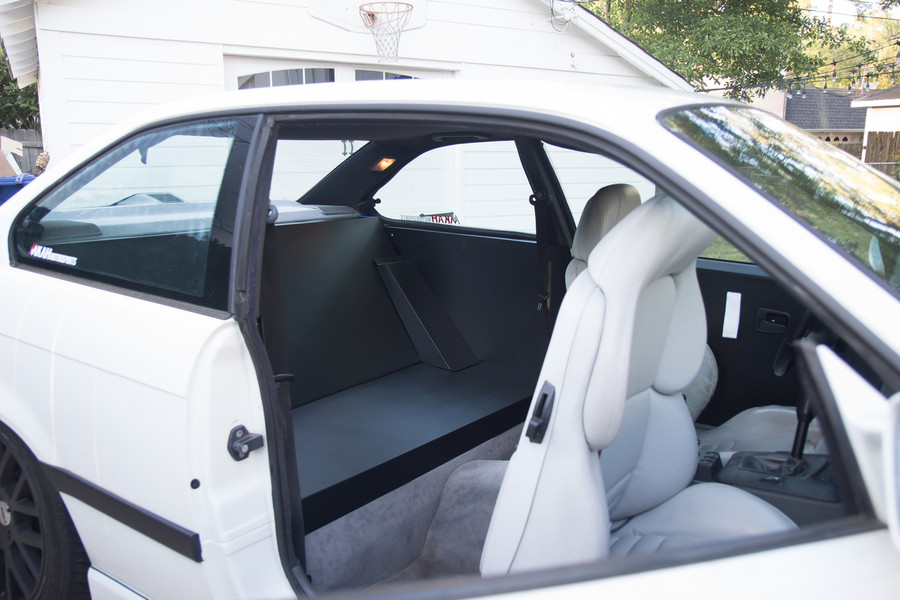"""NEW ITEM"" E36 Full Rear Seat Delete (6 Parts)"