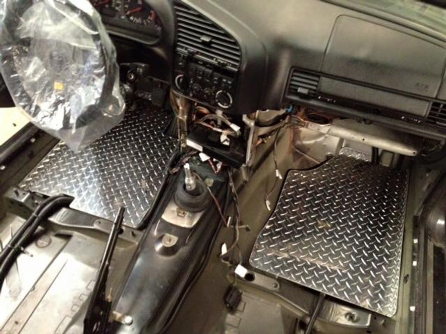 E36 Diamond Plate Floor Pans (Sets or Single Side)