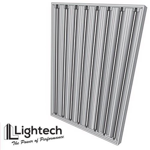 lightech 4ft 8 bulb t5 fluorescent light grow bulbs indoorvegan. Black Bedroom Furniture Sets. Home Design Ideas