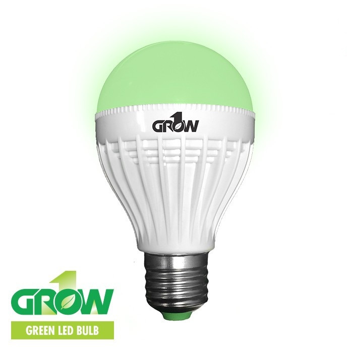 Gro1 Green LED Light Bulb - 9W - IndoorVegan