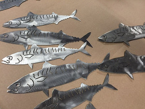 "9-12"" Stainless Steel Wall Mackerel"