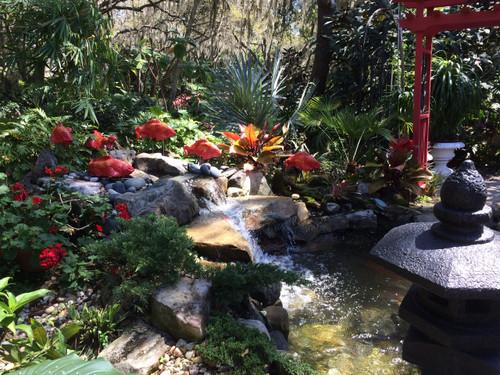 Garden art Koi