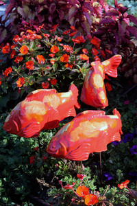 Salsa Koi Garden Art (sold individually)