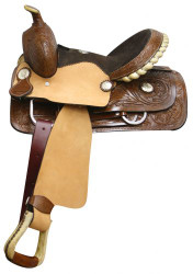 "13"" Double T Youth / Pony Saddle with Full Quarter Horse Bars"