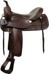 """16"""" Double T Trail Style Saddle with Semi QH Bars"""
