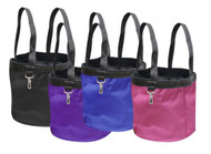 Showman® Collapsable durable nylon grooming tote