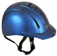 Equi Pro II helmet fron International Riding Helmets. -Blue Mist