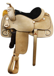 Showman Bullhide Pleasure Trainer Saddle