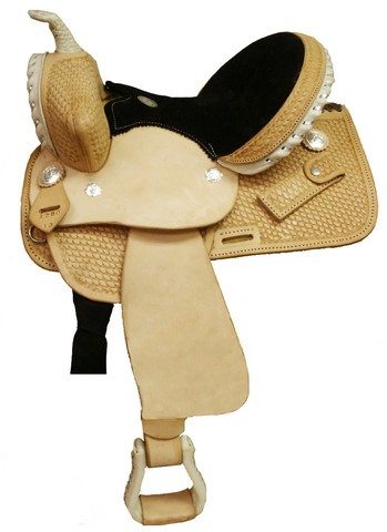 Circle 'S' Western Barrel Racing Saddle