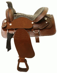 Circle 'S' Western Partial Basket Ranch Roper / Pleasure Saddle