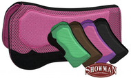 Showman Contoured Waffle Pad with Suede Wear Leathers
