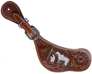 Showman™ Ladies Praying Cowboy Spur Straps