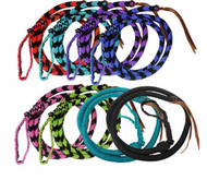 Showman ® Braided nylon Over & Under whip.