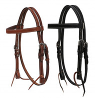 Showman ® PONY headstall with reins.