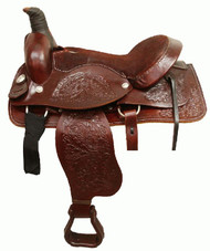 "17"" Buffalo Roper Style / Pleasure Saddle"