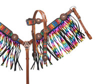 Showman ® Serape print headstall and breast collar set.