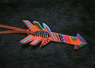 "6.5"" Hand painted tie-on saddle arrow."