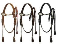 Pony size Poco headstall with reins.