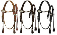 Mini size Poco headstall with reins.