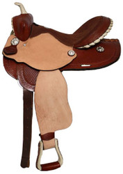 "14"", 15"", 16"" Double T Pleasure Western Saddle"