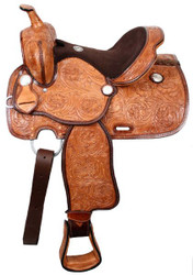 "13"" Double T Youth Saddle With Flex Tree"