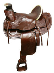 "16"" Oversized roper style pleasure saddle"