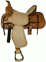 Blue River Bullhide Roping Saddle