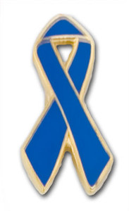 Blue Ribbon Pin