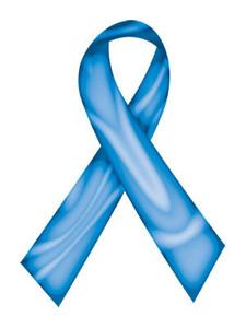 Blue Swirl Ribbon Tattoo - 5 Pack