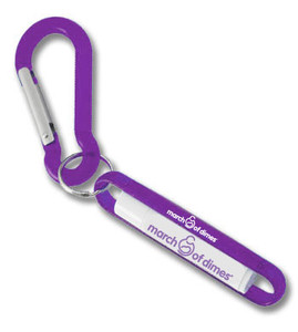 March of Dimes Lip Balm With Carabiner Clip - SOLD OUT!
