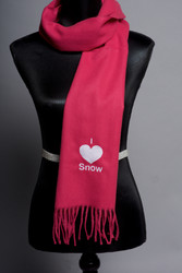 I 'Heart' Snow Scarf