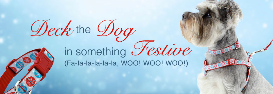 Festive Holiday Dog Collars