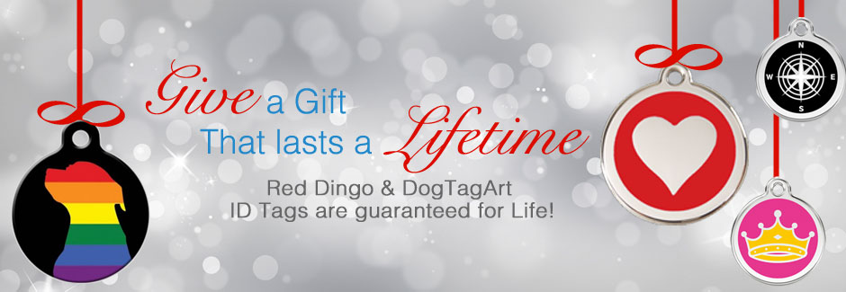 Dog ID Tags - Perfect for gift giving