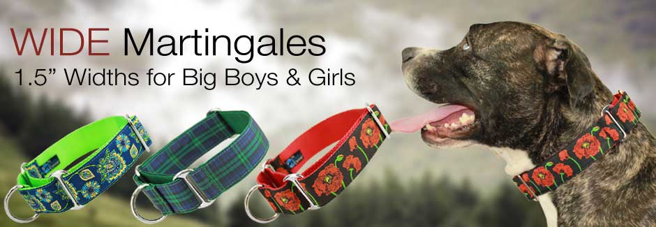 Wide Martingales for Large Dogs