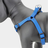 Blue Step in Dog Harness, Choke-Free, Nylon, Adjustable