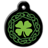 Irish Dog ID Tag, Celtic Dog ID Tag