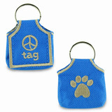dog id tag pouch, keeper, silencer