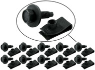 Body Bolt  J Clips 10 Pack