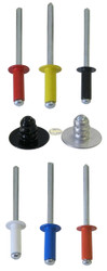 1/8 Small Head Multi Grip Rivets 250 count